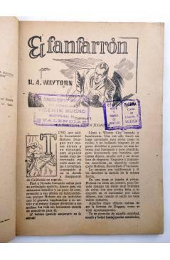 Muestra 2 de BIBLIOTECA X. NOVELAS DE VAQUEROS 72. EL FANFARRÓN (H.A. Waytorn) Cies 1947