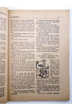 Muestra 3 de BIBLIOTECA X. NOVELAS DE VAQUEROS 72. EL FANFARRÓN (H.A. Waytorn) Cies 1947