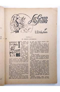 Muestra 2 de BIBLIOTECA X. NOVELAS DE VAQUEROS 77. LA GRAN PATRONA (H.A. Waytorn) Cies 1947
