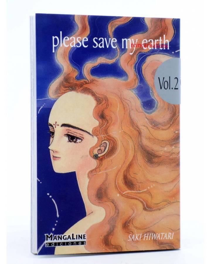 Cubierta de PLEASE SAVE MY EARTH. REINCARNATIONS 2 (Saki Hiwatari) Mangaline 2004