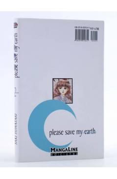Contracubierta de PLEASE SAVE MY EARTH. REINCARNATIONS 2 (Saki Hiwatari) Mangaline 2004