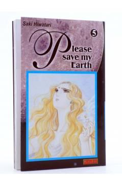 Cubierta de PLEASE SAVE MY EARTH. REINCARNATIONS 5 (Saki Hiwatari) Mangaline 2001