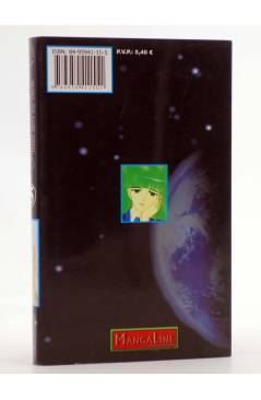 Contracubierta de PLEASE SAVE MY EARTH. REINCARNATIONS 5 (Saki Hiwatari) Mangaline 2001