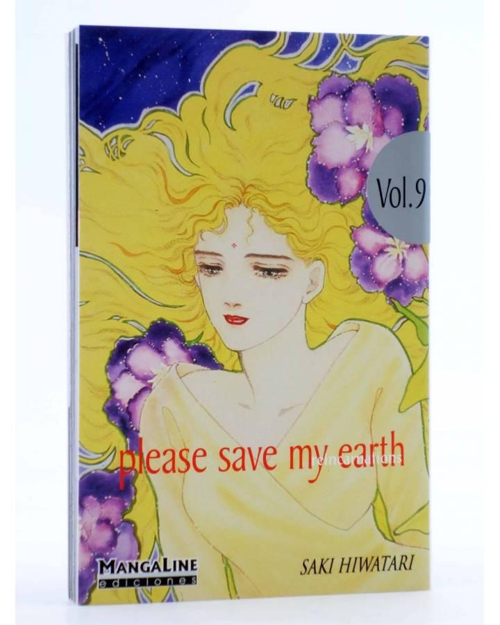 Cubierta de PLEASE SAVE MY EARTH. REINCARNATIONS 9 (Saki Hiwatari) Mangaline 2004