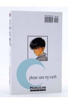 Contracubierta de PLEASE SAVE MY EARTH. REINCARNATIONS 9 (Saki Hiwatari) Mangaline 2004