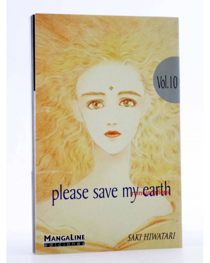 Cubierta de PLEASE SAVE MY EARTH. REINCARNATIONS 10 (Saki Hiwatari) Mangaline 2004