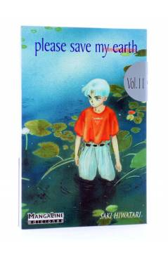 Cubierta de PLEASE SAVE MY EARTH. REINCARNATIONS 11 (Saki Hiwatari) Mangaline 2004