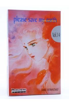Cubierta de PLEASE SAVE MY EARTH. REINCARNATIONS 14 (Saki Hiwatari) Mangaline 2004
