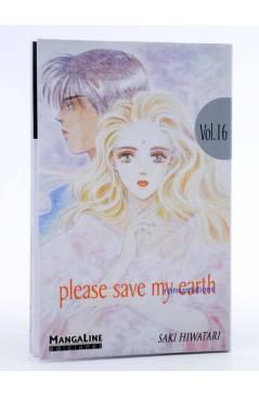 Cubierta de PLEASE SAVE MY EARTH. REINCARNATIONS 16 (Saki Hiwatari) Mangaline 2004