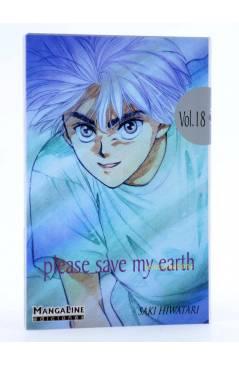Cubierta de PLEASE SAVE MY EARTH. REINCARNATIONS 18 (Saki Hiwatari) Mangaline 2004