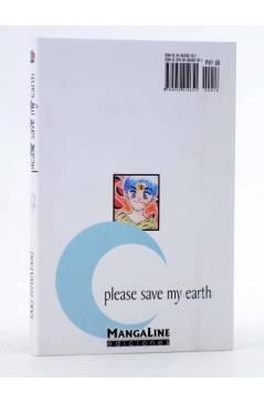 Contracubierta de PLEASE SAVE MY EARTH. REINCARNATIONS 19 (Saki Hiwatari) Mangaline 2004