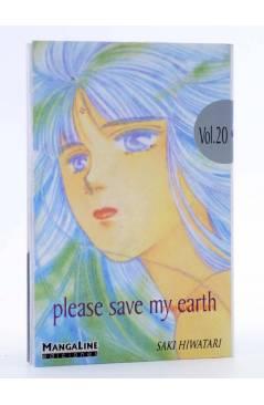 Cubierta de PLEASE SAVE MY EARTH. REINCARNATIONS 20 (Saki Hiwatari) Mangaline 2004
