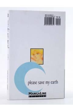 Contracubierta de PLEASE SAVE MY EARTH. REINCARNATIONS 20 (Saki Hiwatari) Mangaline 2004