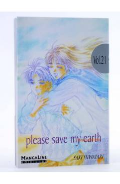 Cubierta de PLEASE SAVE MY EARTH. REINCARNATIONS 21 (Saki Hiwatari) Mangaline 2004