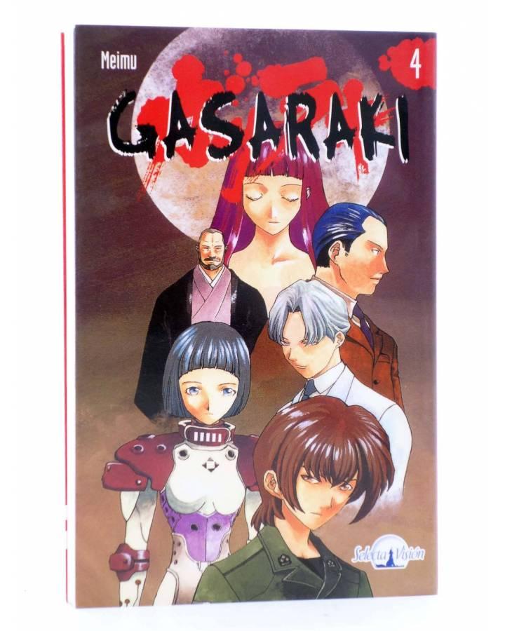 Cubierta de GASARAKI 4 (Meimu) Selecta Visión 2004