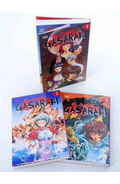 Cubierta de GASARAKI 2 3 4. FALTA Nº 1 PARA COMPLETAR (Saki Hiwatari) Mangaline 2004