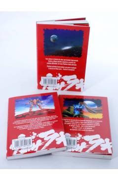 Contracubierta de GASARAKI 2 3 4. FALTA Nº 1 PARA COMPLETAR (Saki Hiwatari) Mangaline 2004