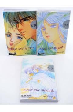 Muestra 4 de PLEASE SAVE MY EARTH. REINCARNATIONS LOTE NºS 7 A 21 (Saki Hiwatari) Mangaline 2004