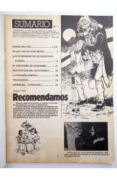 Muestra 1 de SIR DIABLO 1. EL FANTASMA DE GERÓNIMO (Vvaa) Ediprint 1983. COMICS PARA ADULTOS