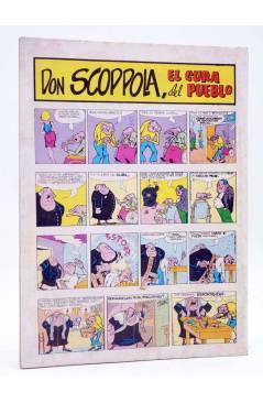 Contracubierta de SIR DIABLO 4. EL FINAL DE GERÓNIMO (Vvaa) Ediprint 1983. COMICS PARA ADULTOS
