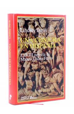 Cubierta de DIDIO FALCO VIII. UNA CONJURA EN HISPANIA (Lindsey Davis) Edhasa 1999