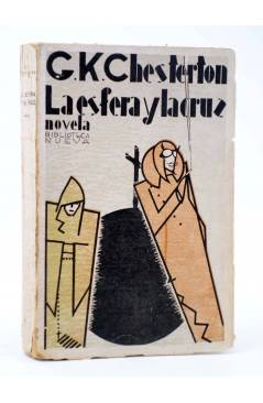 Cubierta de LA ESFERA Y LA CRUZ (G.K. Chesterton) Biblioteca Nueva 1930