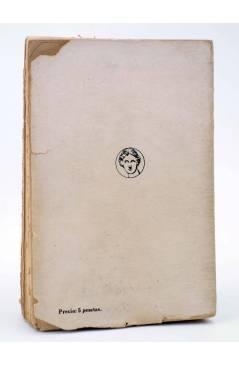 Contracubierta de LA ESFERA Y LA CRUZ (G.K. Chesterton) Biblioteca Nueva 1930