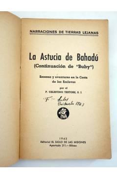 Muestra 2 de NARRACIONES DE TIERRAS LEJANAS. LA ASTUCIA DE BAHADÚ (C. Testore) El Siglo de las Misiones 1943