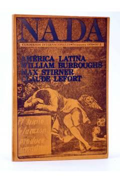 Cubierta de REVISTA NADA CUADERNOS INTERNACIONALES 2. PRIMAVERA 1979 (Vvaa) Nada 1979