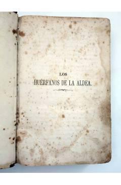 Muestra 2 de LOS HUÉRFANOS DE LA ALDEA TOMO III (Ducray Duminil) Espasa Hermanos 1866