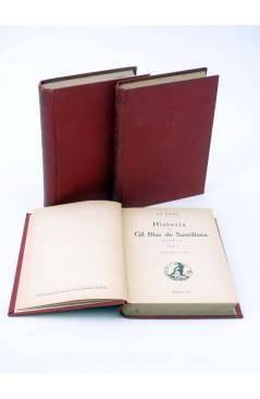 Cubierta de COLECCIÓN UNIVERSAL 204 205 206. HISTORIA DE GIL BLAS DE SANTILLANA. COMPLETA EN 3 TOMOS (Le Sage) Calpe 192