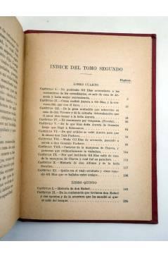 Muestra 4 de COLECCIÓN UNIVERSAL 204 205 206. HISTORIA DE GIL BLAS DE SANTILLANA. COMPLETA EN 3 TOMOS (Le Sage) Calpe 19