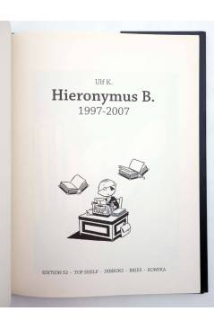 Muestra 1 de HIERONYMUS B. 1997 - 2007 (Ulf K.) Dibbuks 2007