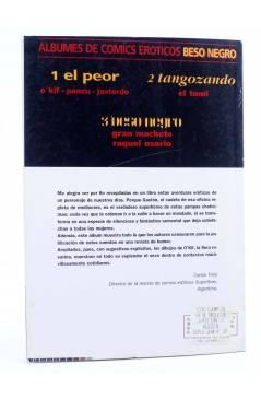 Contracubierta de EL PEOR (O'Kif / Pancu / Javierdo) Doedytores 1994