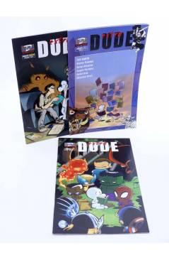 Cubierta de DUDE EXTRA 1 2 3. COMPLETA (Vvaa) Dude 2001
