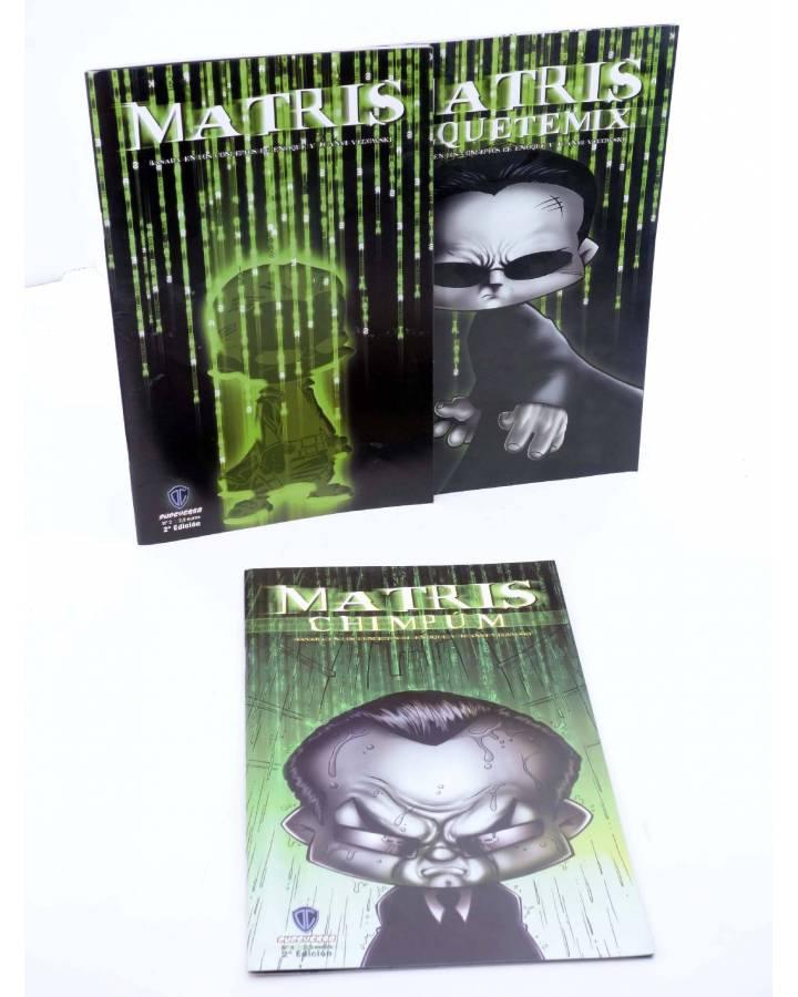 Cubierta de MATRIS / MATRIS REQUETEMIX / MATRIS CHIMPÚN. COMPLETA (Enrique Vegas) Dude 2005