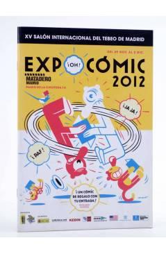Cubierta de CATALÓGO O FOLLETO EXPOCOMIC 2012. 32 PÁGS (Vvaa) Expocomic 2012