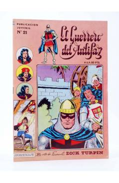 Cubierta de EL GUERRERO DEL ANTIFAZ SERIE INÉDITA 21. UNA FAMILIA SINIESTRA (M. Gago) Valenciana 1984