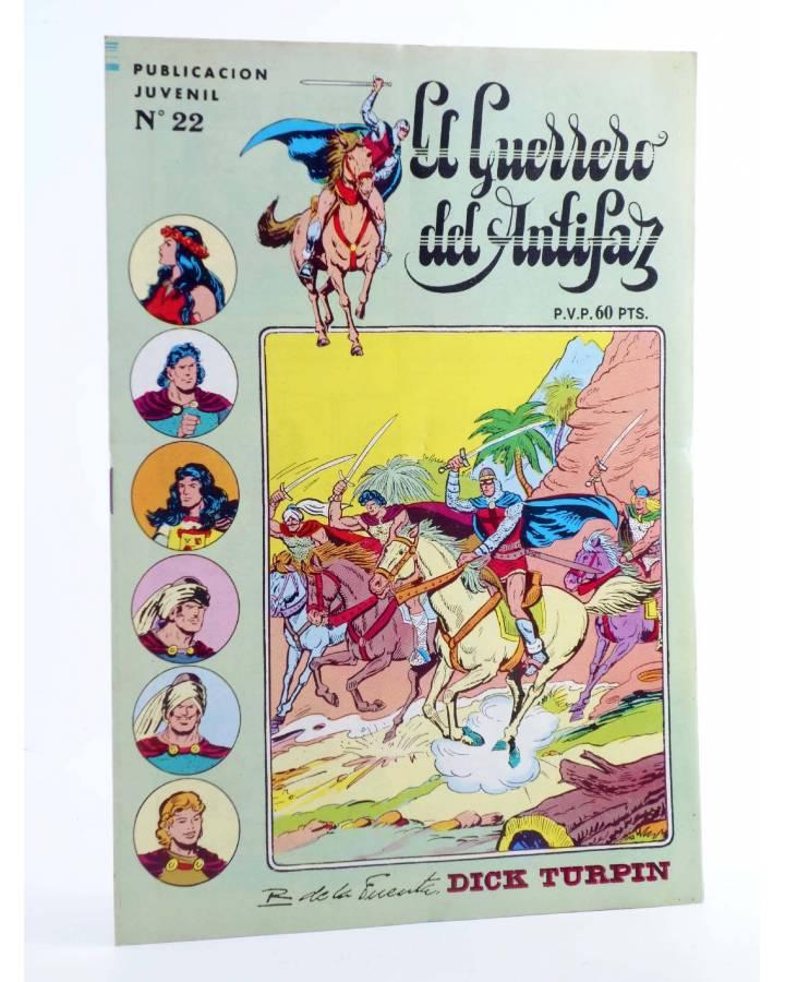 Cubierta de EL GUERRERO DEL ANTIFAZ SERIE INÉDITA 22. EL VENDEDOR DE ESCLAVAS (M. Gago) Valenciana 1984