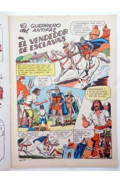 Muestra 1 de EL GUERRERO DEL ANTIFAZ SERIE INÉDITA 22. EL VENDEDOR DE ESCLAVAS (M. Gago) Valenciana 1984