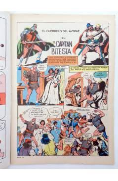 Muestra 1 de EL GUERRERO DEL ANTIFAZ SERIE INÉDITA 23. EL CAPITÁN BITESTA (M. Gago) Valenciana 1984