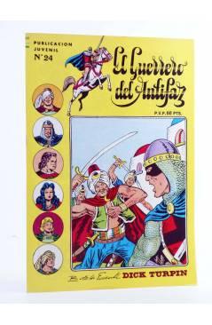 Cubierta de EL GUERRERO DEL ANTIFAZ SERIE INÉDITA 24. PESCADORES ACOSADOS (M. Gago) Valenciana 1984