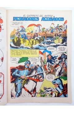 Muestra 1 de EL GUERRERO DEL ANTIFAZ SERIE INÉDITA 24. PESCADORES ACOSADOS (M. Gago) Valenciana 1984