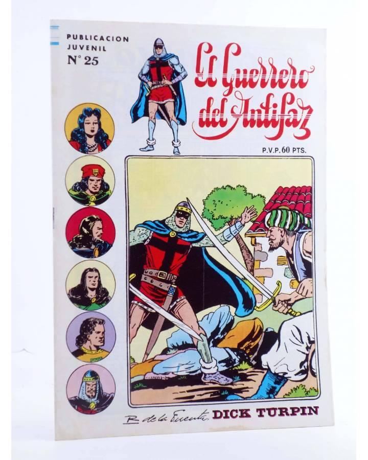 Cubierta de EL GUERRERO DEL ANTIFAZ SERIE INÉDITA 25. JAFAR EL PIRATA (M. Gago) Valenciana 1984