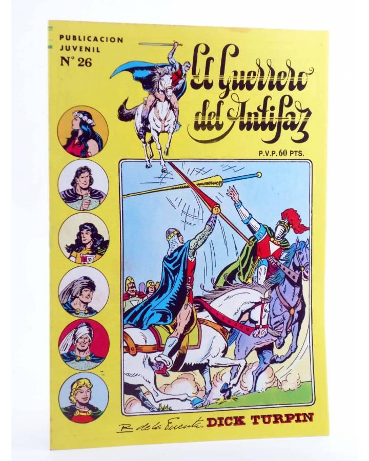 Cubierta de EL GUERRERO DEL ANTIFAZ SERIE INÉDITA 26. UN CASO DE CONCIENCIA (M. Gago) Valenciana 1984