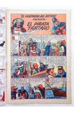 Muestra 1 de EL GUERRERO DEL ANTIFAZ SERIE INÉDITA 27. EL PIRATA TÁRTARO (M. Gago) Valenciana 1984