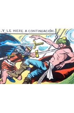 Muestra 3 de EL GUERRERO DEL ANTIFAZ SERIE INÉDITA 27. EL PIRATA TÁRTARO (M. Gago) Valenciana 1984