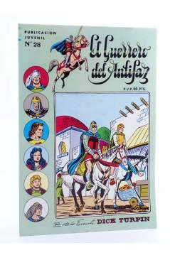 Cubierta de EL GUERRERO DEL ANTIFAZ SERIE INÉDITA 28. EL BANDIDO DEL DESIERTO (M. Gago) Valenciana 1984