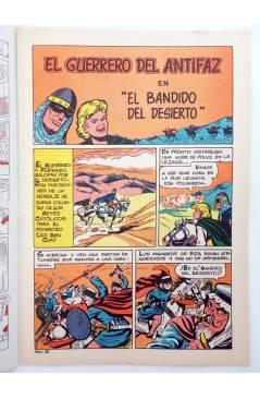 Muestra 1 de EL GUERRERO DEL ANTIFAZ SERIE INÉDITA 28. EL BANDIDO DEL DESIERTO (M. Gago) Valenciana 1984
