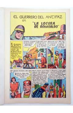Muestra 1 de EL GUERRERO DEL ANTIFAZ SERIE INÉDITA 29. LA LOCURA DE ROMUALDO (M. Gago) Valenciana 1984
